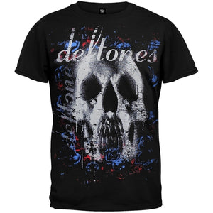 Popular Fashion Fashion's Tops Graphic Tees Deftones Men's Roses Short Sleeve T-Shirts Tops Tee