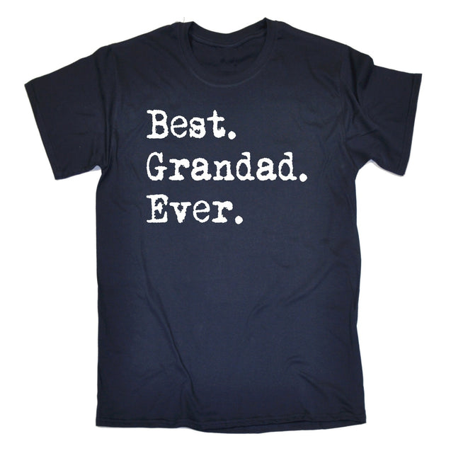 GWW Men's Best Grandad Ever T-Shirts Tops Tee funny fashion clothing birthday gift tee