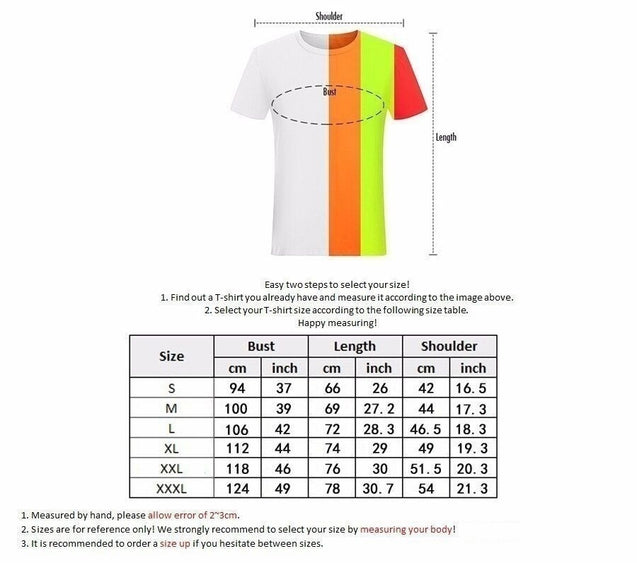 Men's fashion T-Shirts Cotton Tee Shirts Man Daredevil MAN WITHOUT FEAR Letters Printed Short Sleeves European size S-XXXL Round collar leisureTops