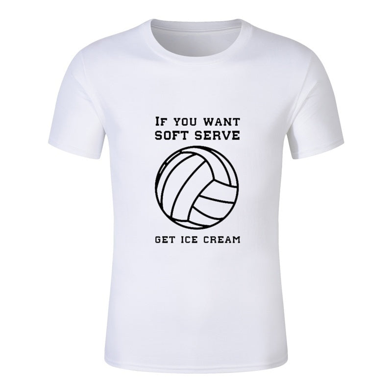 e2b78eafe Summer Tops-Vollyball characters funny men summer T Shirt Men's stephen king  printed Halloween pennywise
