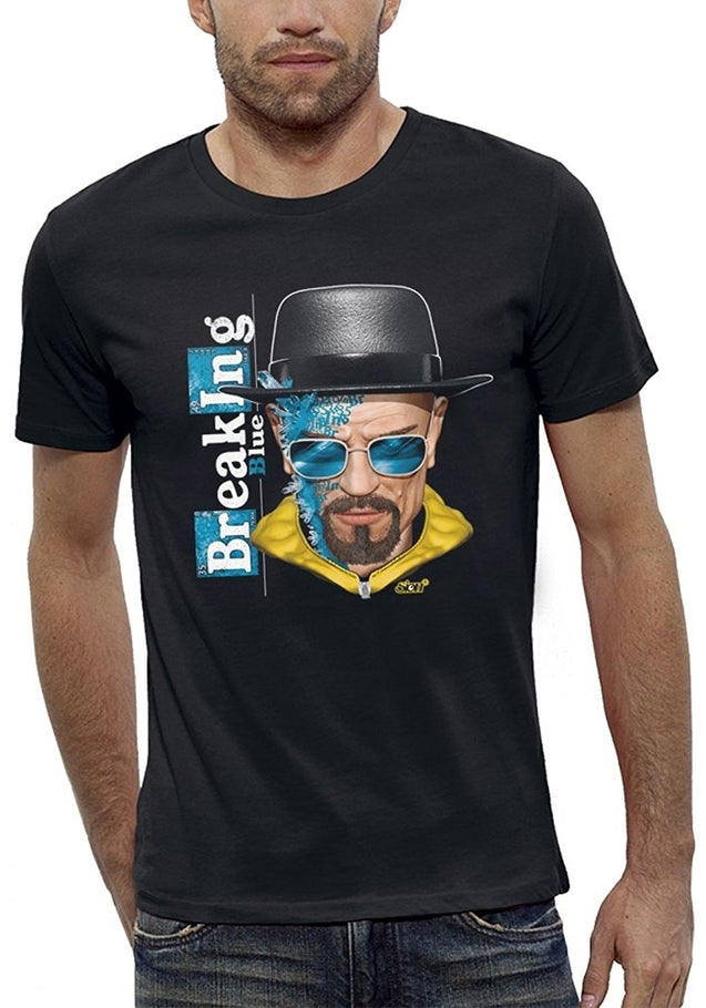 Men T-shirt Tee Tops BREAKING BAD Augmented Reality - PIXEL EVOLUTION