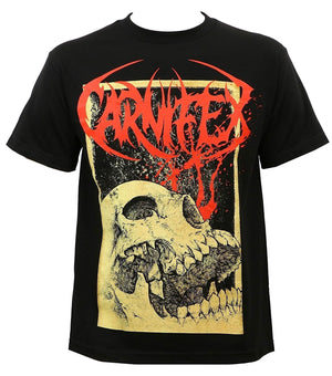 Summer Shirt Tops Tee-Carnifex Men's Slow Death T-Shirt Black Men Cotton Short Sleeve T-Shirt Fashion