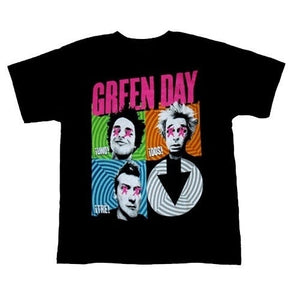 Green Day Band Tour T-shirt Shirt Tee Tops Black New Men's Tshirt Tee