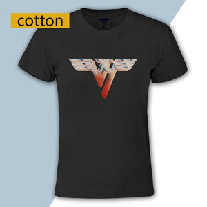 Van Halen Van Halen Ii Cotton Crew Neck T-shirt Shirt Tee Tops For Men