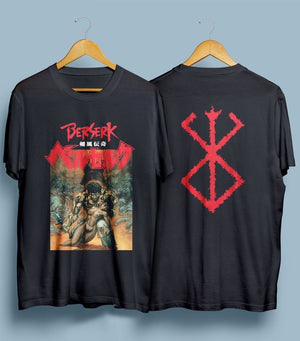 Berserk Japan Anime Manga Series Men's T-Shirt Shirts Tee Tops