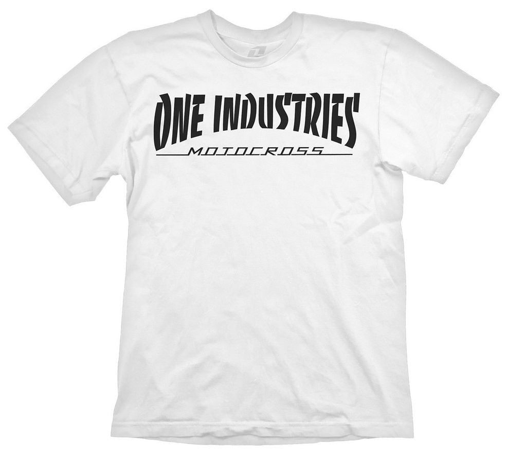 ONE Industries Ion Short Sleeve MTB Jersey White