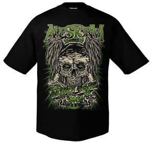 Alestorm Buckfast Men Short Sleeve T-shirts Tops Tee