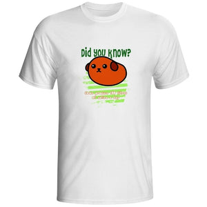 Did you know: Cows produce 100 litres of saliva a day White T-shirts Tops Tee