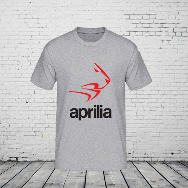 Men's Aprilia Moto Sports Msp T-Shirt Shirts Tee Tops Fashion Tops Clothing