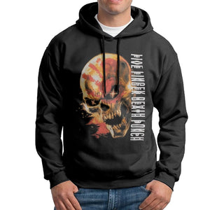 Mens FIVE FINGER DEATH PUNCH CRYPTIC SKULL Hoodies Pullovers