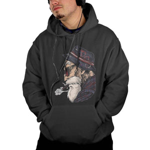 Master Roshi Dragon Ball Z Pullovers Hooded Coat Hoodies Men's