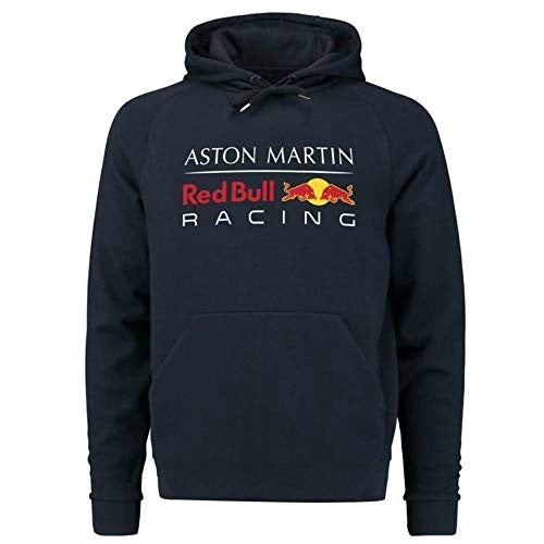 Aston Martin Red Bull Racing Formula 1 Men's Blue Authentic Pull Over Hoody F1
