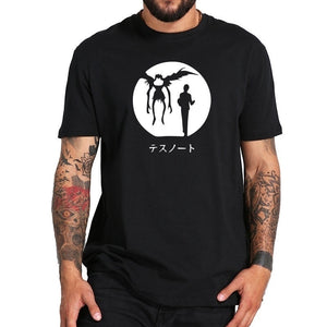 Death Note T Shirt Anime Popular Cartoon Fashion Summer Tops Streetwear T-shirt