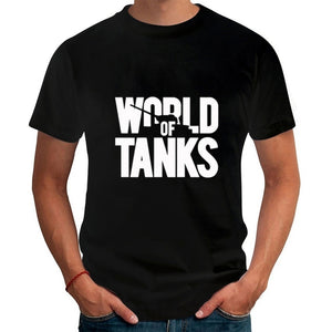 New  Summer Style Funny World Of Tanks  T-Shirt Men Short Sleeve T Shirts Fashion brand Streetwear Hip Hop Top Tees