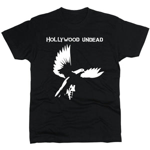 Summer Fashion T-shirt Hollywood Undead T-shirt Men Regular Fit Cotton Cotton Short Sleeve Men's Funny T-Shirt