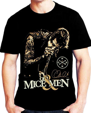 Fashion Cotton T Shirts of Mice & Men Austin Carlile Attack Tee Shirt Short Sleeve Men's Funny Cool T-Shirt
