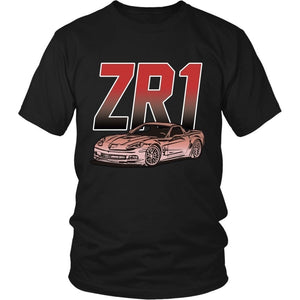 Corvette C6 ZR1 Chevy Muscle Car T-Shirt