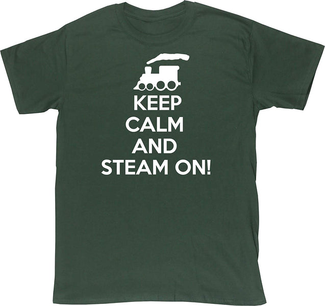 Keep Calm and Steam On Unisex Short Sleeve t-Shirt