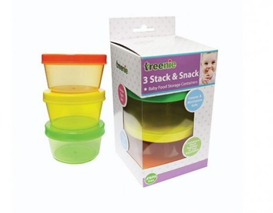 Treenie 3pcs Stack and Snack Container