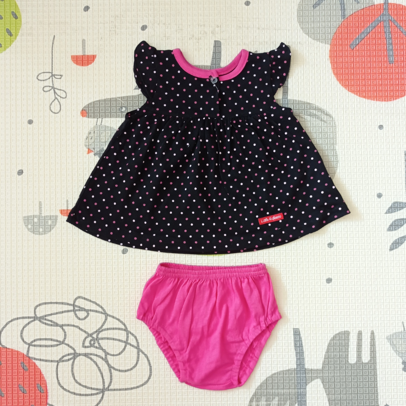 Little Highness Skirt with Panty [Polka Dot Black]