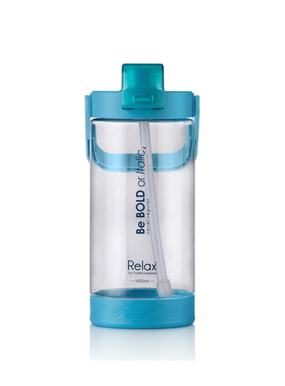 Relax Tritan Water Bottle With Straw (Assorted)