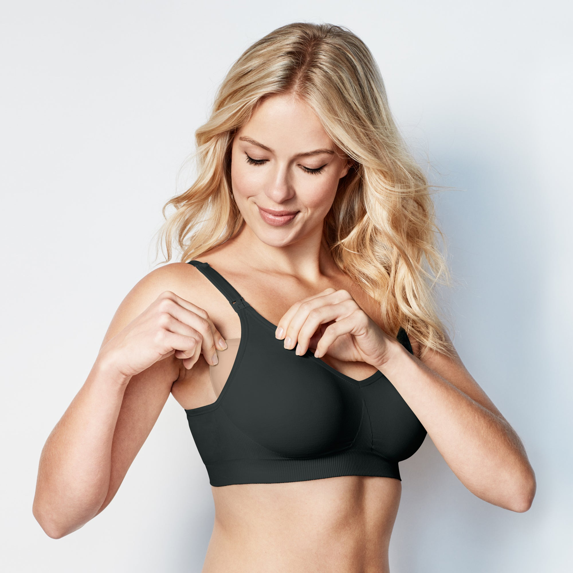 Bravado Body Silk Seamless Nursing Bra (Black Nior)