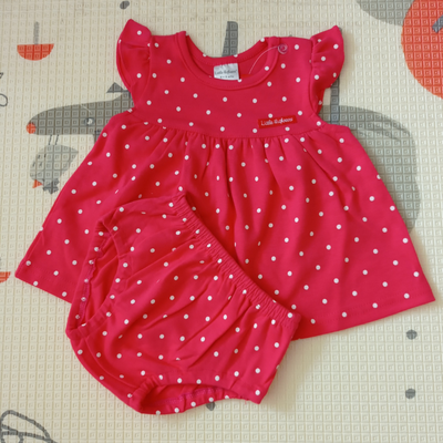 Little Highness Skirt with Panty [Polka Dot Pink]