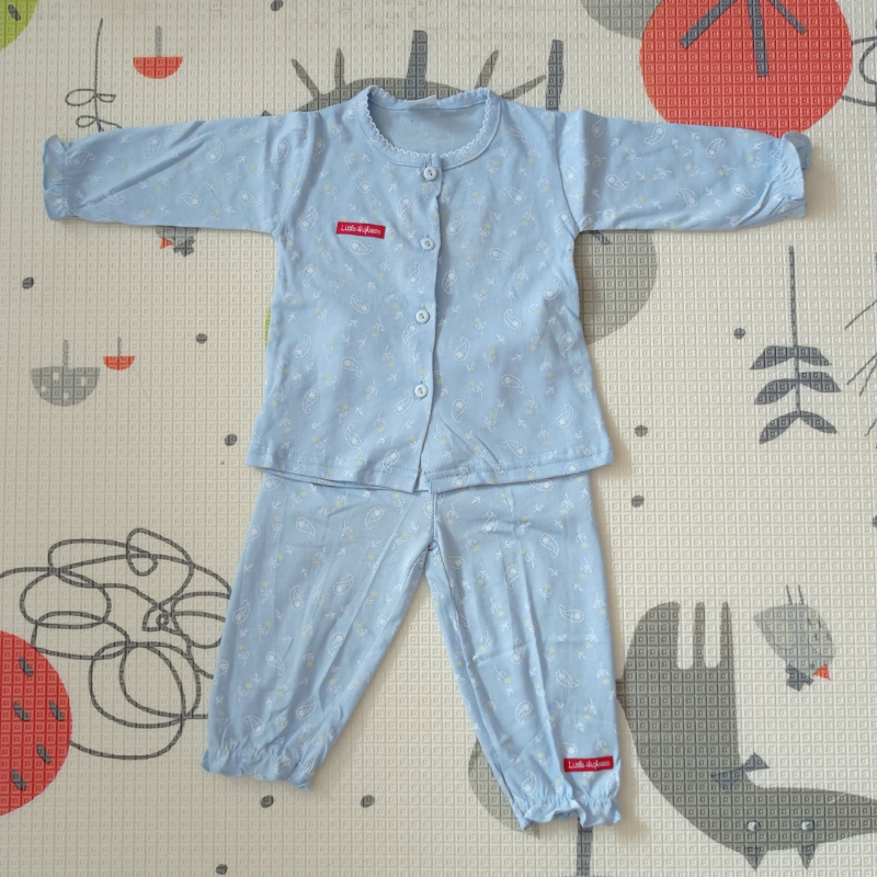Little Highness Infant Suit with Long Pant [Parsley Blue]