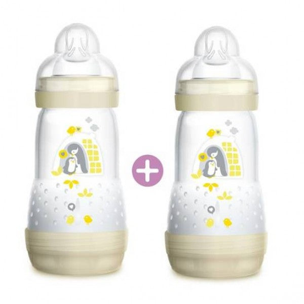 MAM Easy Start Anti Colic Bottle 260ml (Twin Pack)