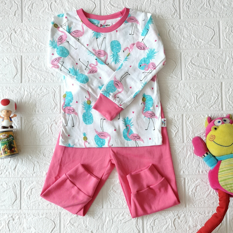 Super Sun Toddler Flamingo Long Sleeves / Long Pants