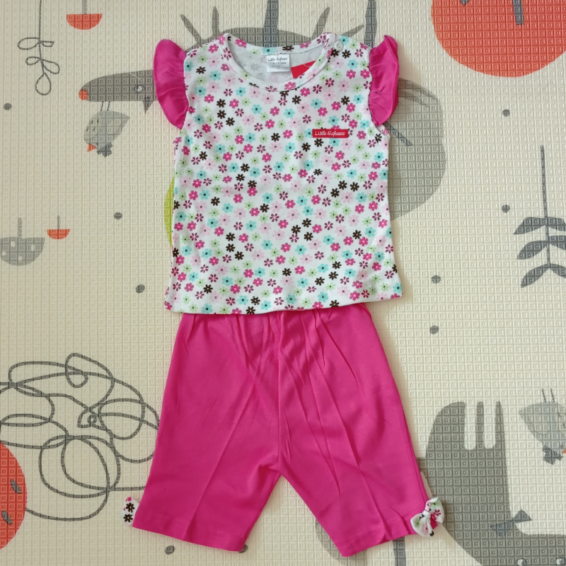 Little Highness Skirt with Short Pant [Pink Flower]
