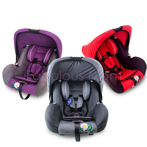 Fabulous Mom Roadster Infant Car Seat + FREE RM20 FM Cash Voucher