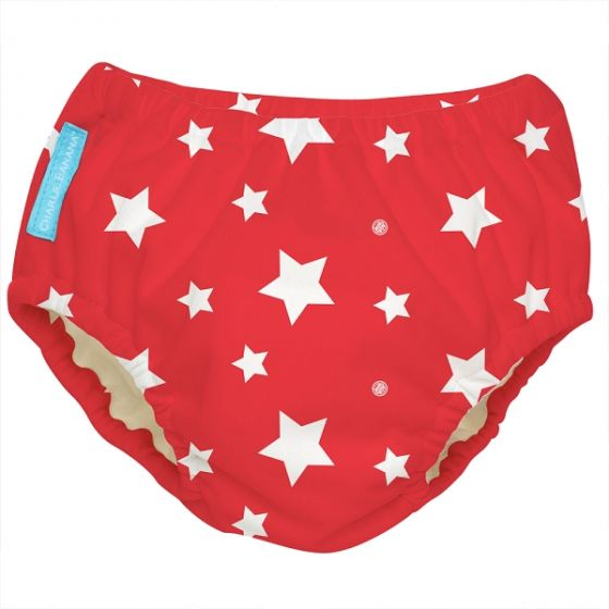 Charlie Banana Swim Diaper & Training Pants White Stars