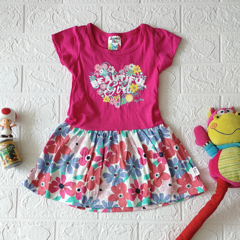 Super Sun Toddler Dress Beautiful Girl