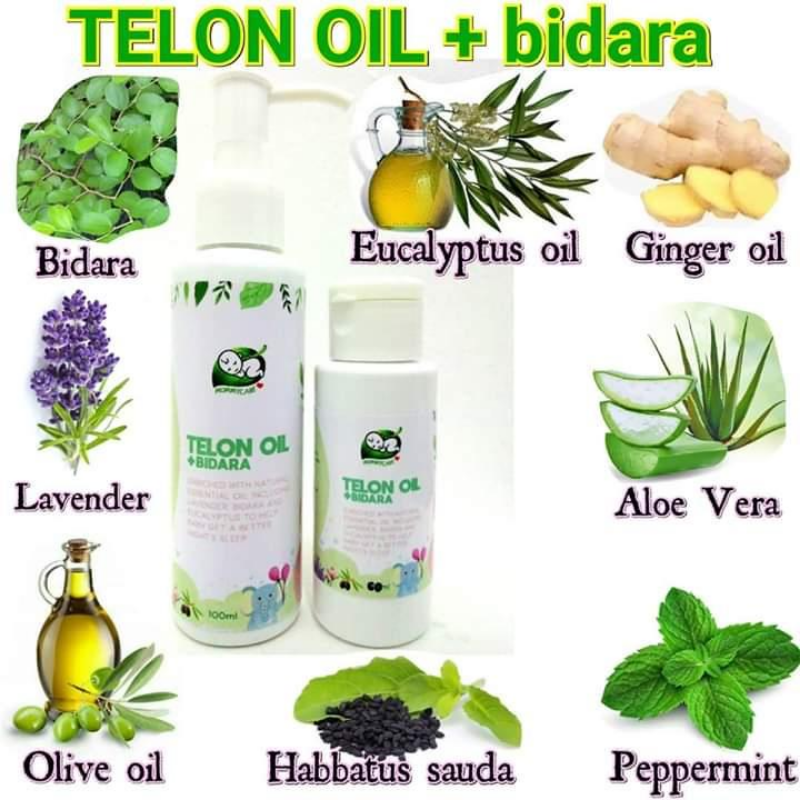 Mommy Care Telon Baby Oil & Bidara ( 60ml / 100ml )