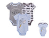 Luvable Friends Bodysuit 3pk (Little Man)