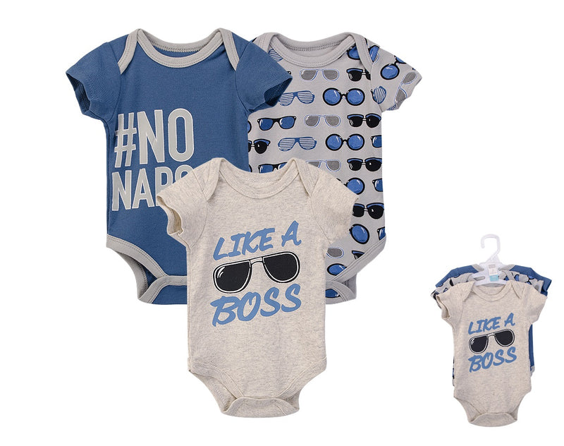 Luvable Friends Bodysuit 3pk (Like A Boss)