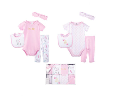 Luvable Friends 8pcs Clothing Gift Box Set [0-6mth]