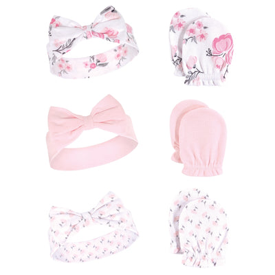 Luvable Friends Headband And Scratch Mitten Set (Assorted)
