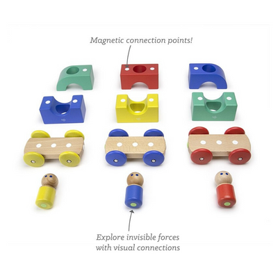 Tegu Magnetic Tram ( Assorted )