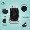 Koopers Ruvafix Isofix Car Seat [Black] [6 Years Warranty]