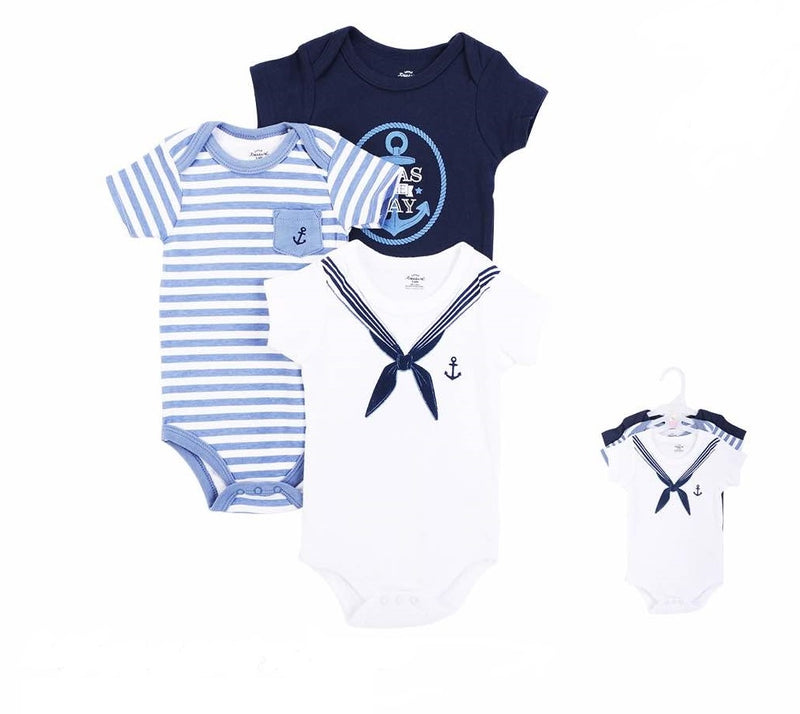 Luvable Friends Bodysuit 3pk (Seas The Day)