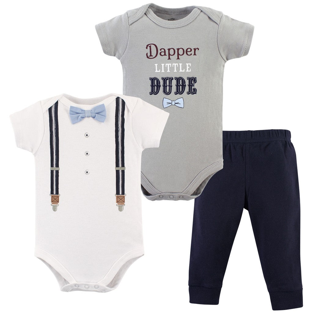 Luvable Friends Bodysuit 3pk (Dapper Little Dude)