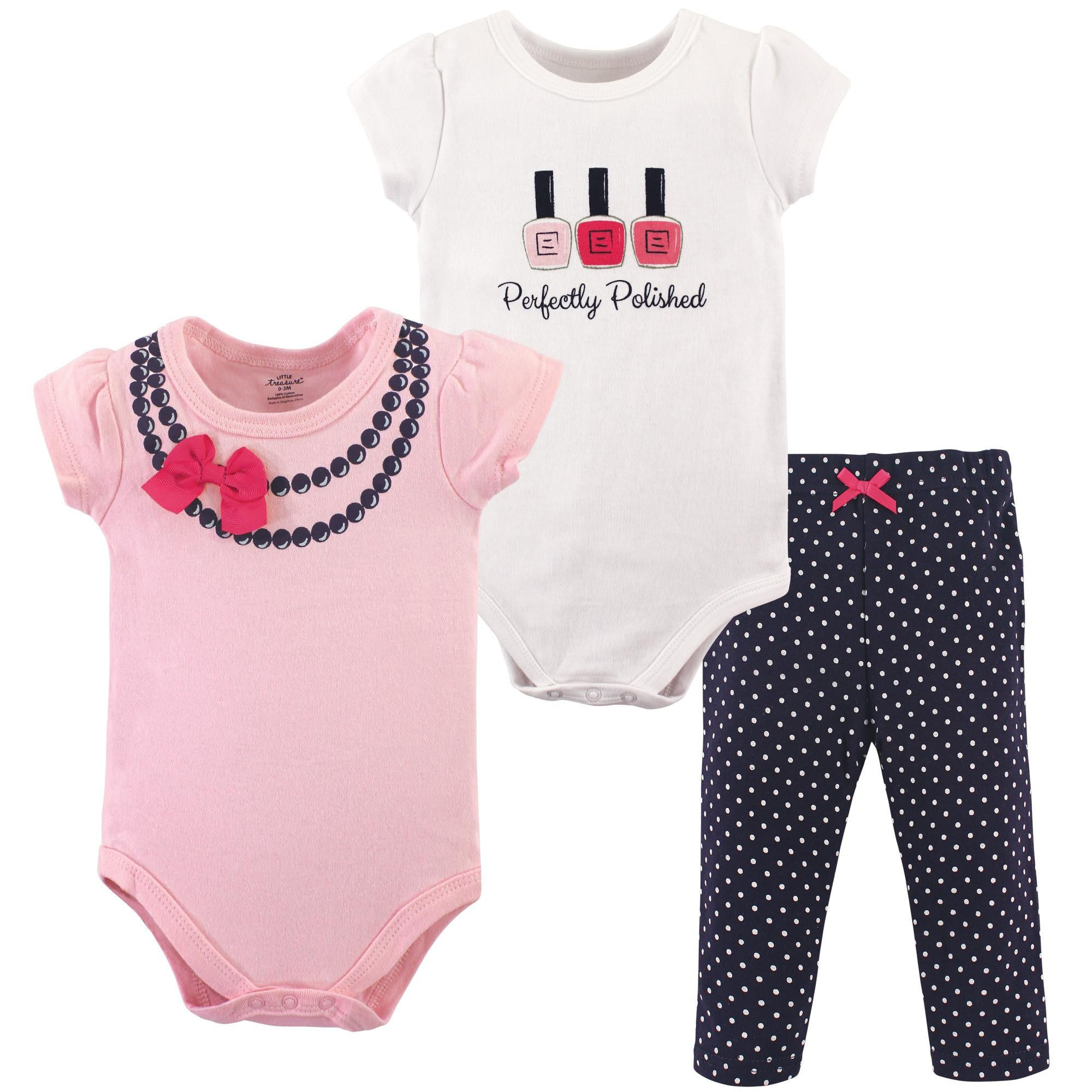 Luvable Friends Bodysuit 3pk (Perfectly Published)