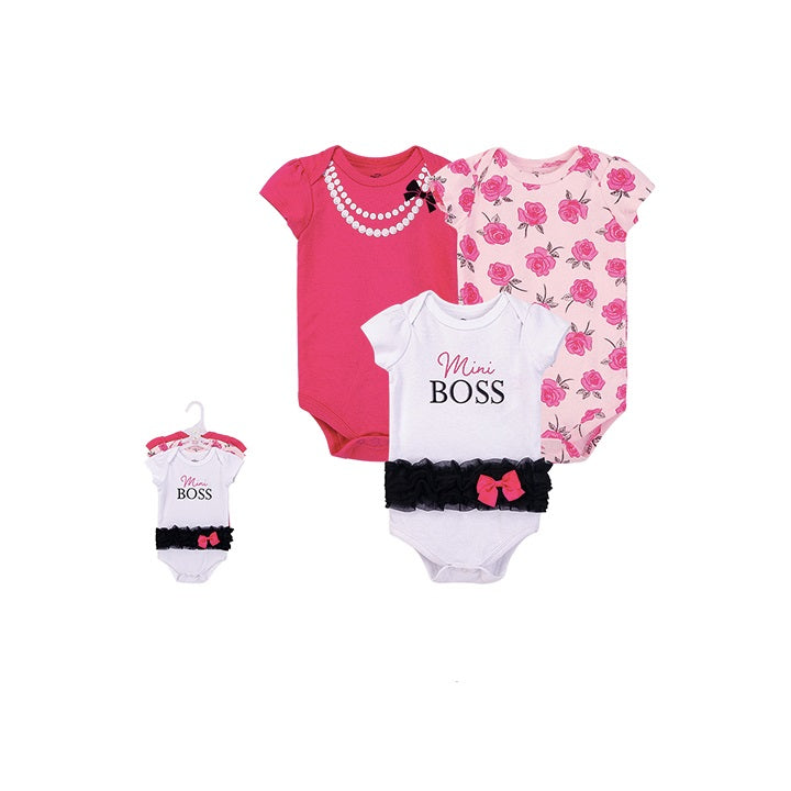 Luvable Friends Bodysuit 3pk (Mini Boss)