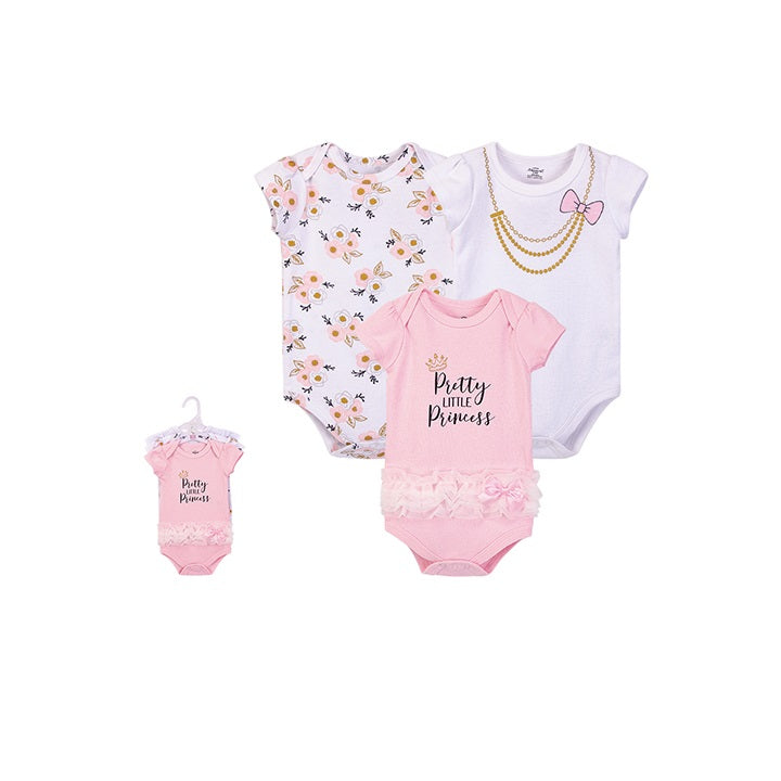Luvable Friends Bodysuit 3pk (Pretty Like Princess)
