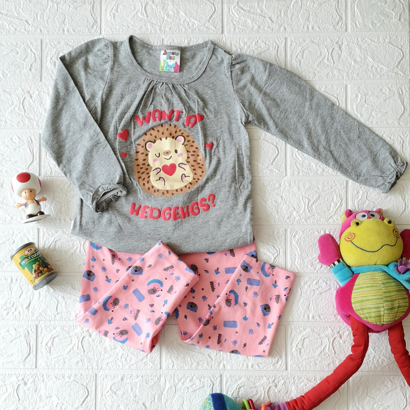 Super Sun Toddler Want A Hedgehogs Long Sleeves / Long Pants