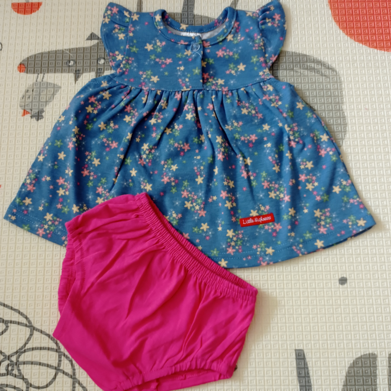 Little Highness Skirt with Panty [Blue Flower]