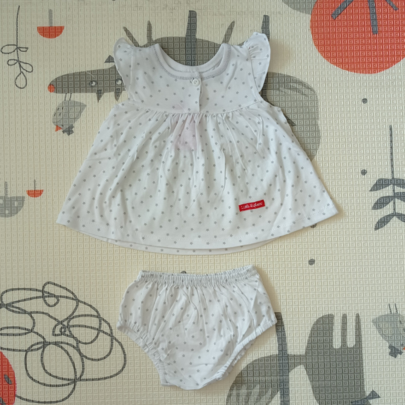 Little Highness Skirt with Panty [Twinkle Star White]