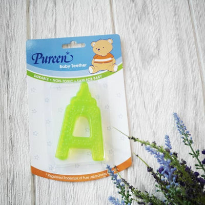 Pureen Alphabet A Water Filled Teether